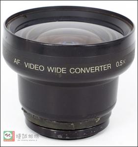 0.5X 广角镜 广角附加镜头 46mm 带46mm 转43mm 转接环