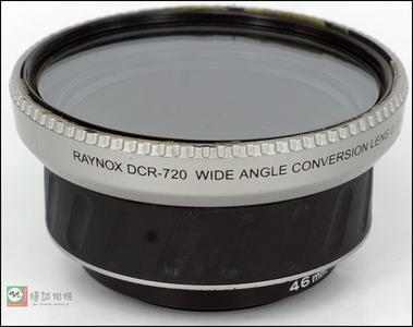 日本Raynox雷诺士 DCR-720 广角镜  0.72X广角外接附加镜46mm