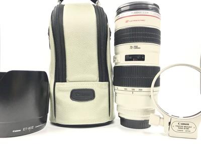 【已售】极好 正品 佳能EF 70-200 mm/F2.8 L  俗称小白#3082