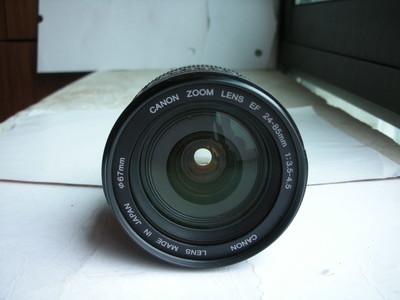 很新佳能 EF 24-85mm f/3.5-4.5 USM镜头,全幅挂机头