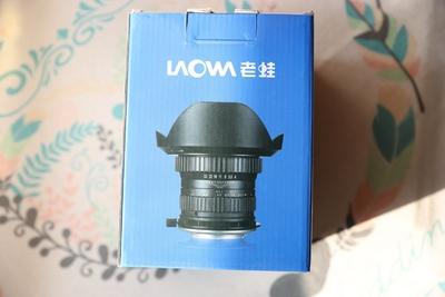 老蛙 LW-FX 15mmF4.0 WIDE MACRO 1:1 超广角微距镜头 仅拆封