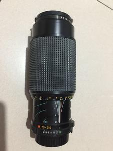 美能达MDzoom70-210mm 1:4直径55mm镜头99新没有使用过产地JAPAN