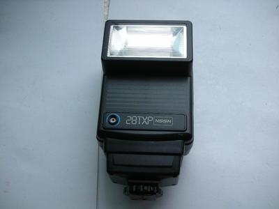 极新日本原厂日清28TXP闪光灯,有手动和自动功能,收藏使用