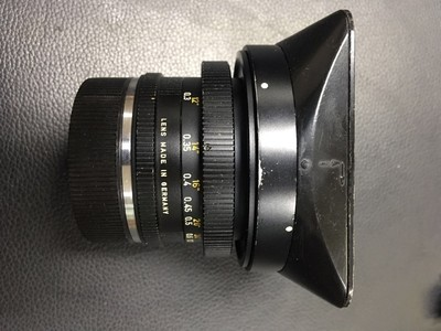 Leitz Wetzlar Super-Angulon 21 mm f/ 4  超级安古龙 广角镜头