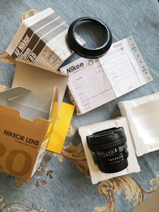 尼康 20mm f/2.8D 全画幅单反镜头