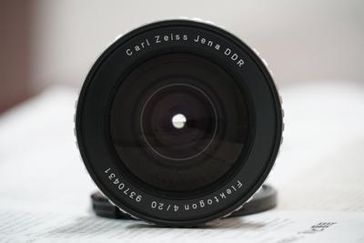 收藏成色带原厂盒子Carl Zeiss Jena 20/4,M42口东蔡超广牛头