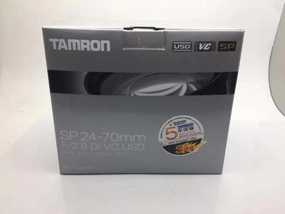 Tamron/腾龙SP 24-70/2.8 Di VC USD 全画幅标准变焦 腾龙24-70