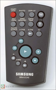 三星摄像机遥控器BRM-D2AE