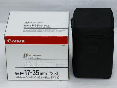 佳能EF17-35mmF2.8L镜头包装盒