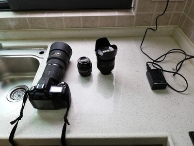 尼康 D90机身,80-200小钢炮,50-1.4D人像镜头,24-85-2.8-4D