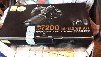 尼康 D7200一整套(有广角镜,存储卡,三脚架,