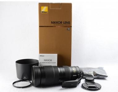 尼康AF-S 尼克尔 200-500mm f/5.6E ED VR