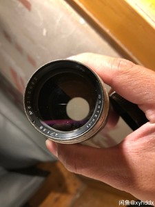 Jupiter 135 4 白银镜头