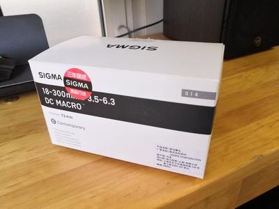 适马 18-300mm f/3.5-6.3 DC Macro OS HSM