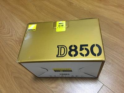 全新未拆封国行D850