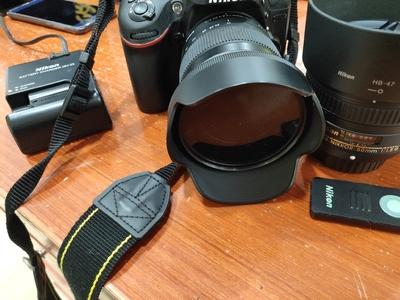 尼康单反相机d7100 适马17-70 尼康50f1.8g