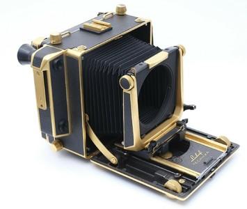 林哈夫特异 4x5 50周年纪念金机