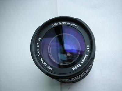 很新适马AF100--300mm镜头,佳能EF卡口