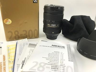 【已售】国行尼康28-300 F3.5-5.6 G VR 全副一镜走天下镜头#6214