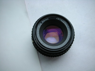 很新宾得50mmf2SMC超级多层镀膜金属制造经典镜头