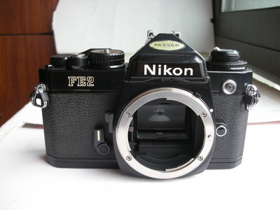 很新尼康Nikon FE2钛快门经典相机,收藏使用
