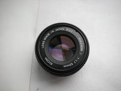 很新日本原装理光50mmf1.7镜头,PK卡口,可配各种数码相机
