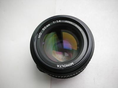 较新美能达MD50f1.4经典镜头