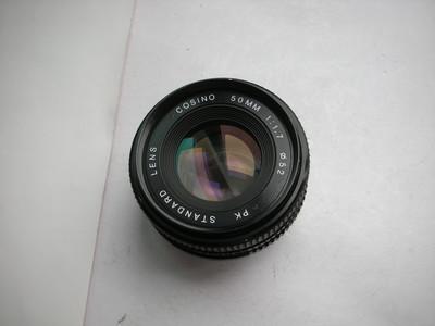 很新日本卡西诺50mmf1.7金属制造镜头,PK卡口,可配各种相机