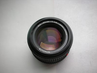 很新美能达MD50mmf1.4经典镜头