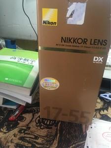 自用  尼康 AF-S DX 17-55mm f/2.8G IF-ED(95新或以上)