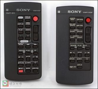 索尼摄像机 遥控器