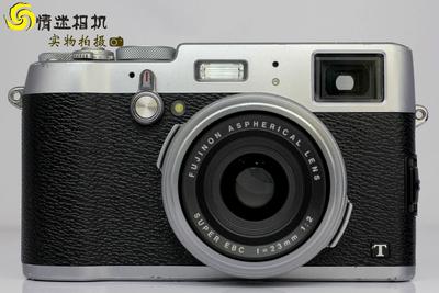 【旁轴卡片数码相机】富士 X100T相机 银色(NO:2835)