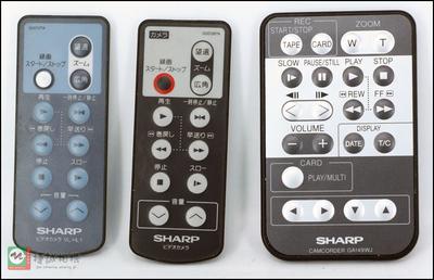 Sharp/夏普 摄像机遥控器