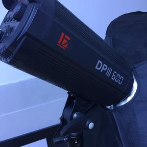 金贝DPIII600 上一代 影室灯 两盏