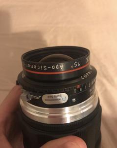 Hasselbald 哈苏口 rodenstock 135mm f/5.6 红圈