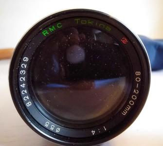 日本图丽TOKINA手动单反镜头80-200焦段,MD口,喜欢玩手动的拍