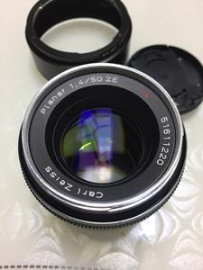 卡尔·蔡司 Planar T* 50mm f/1.4  佳能口