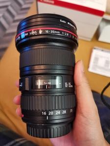 佳能 EF 16-35mm f/2.8L II USM 9成新,自用6300出