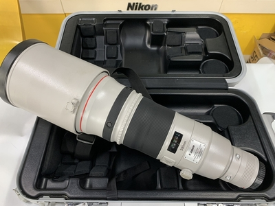 佳能 EF 500mm f/4L IS II 二代540大炮带箱子97新