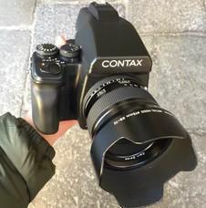 Contax 645一臺和80/2.0鏡頭 45鏡