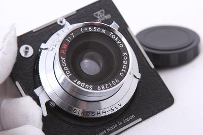 骑士HORSEMAN SUPER TOPCOR PW65/7 6X9广角座机镜头