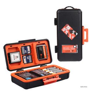 单反D850 6D2 5D4 A7R3 A7M3相机储存收纳盒CF XQD SD 闪光灯电池