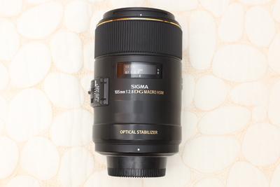 适马 105mm f/2.8 EX DG OS HSM
