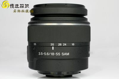 【标变焦镜头】索尼18-55/3.5-5.6 SAM(NO:1327)*