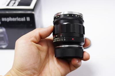 福伦达 Nokton 35mm f/1.2 SL(黑色)
