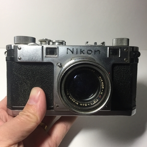 尼康第一代旁轴Nikon S + 50/2套机