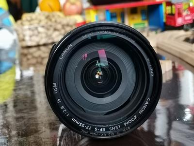 佳能17-55mm送原厂EW-83J遮光罩和德国原厂B+W UV镜