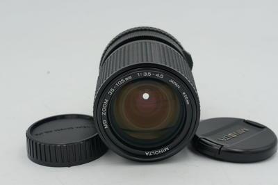 近全新的美能达MD 35-105 F3.5-4.5 镜头