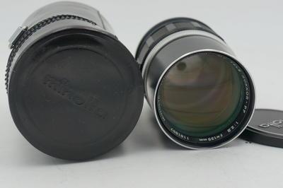 近全新的美能达MD 135 F2.8 镜头