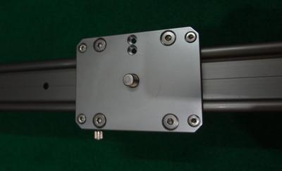 蔓延 单反摄像滑轨 迷你摄影轨道 单反滑轨小滑轨小轨道0.8米